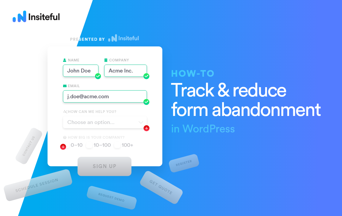 What is form abandonment? (+ how to recover lost leads)