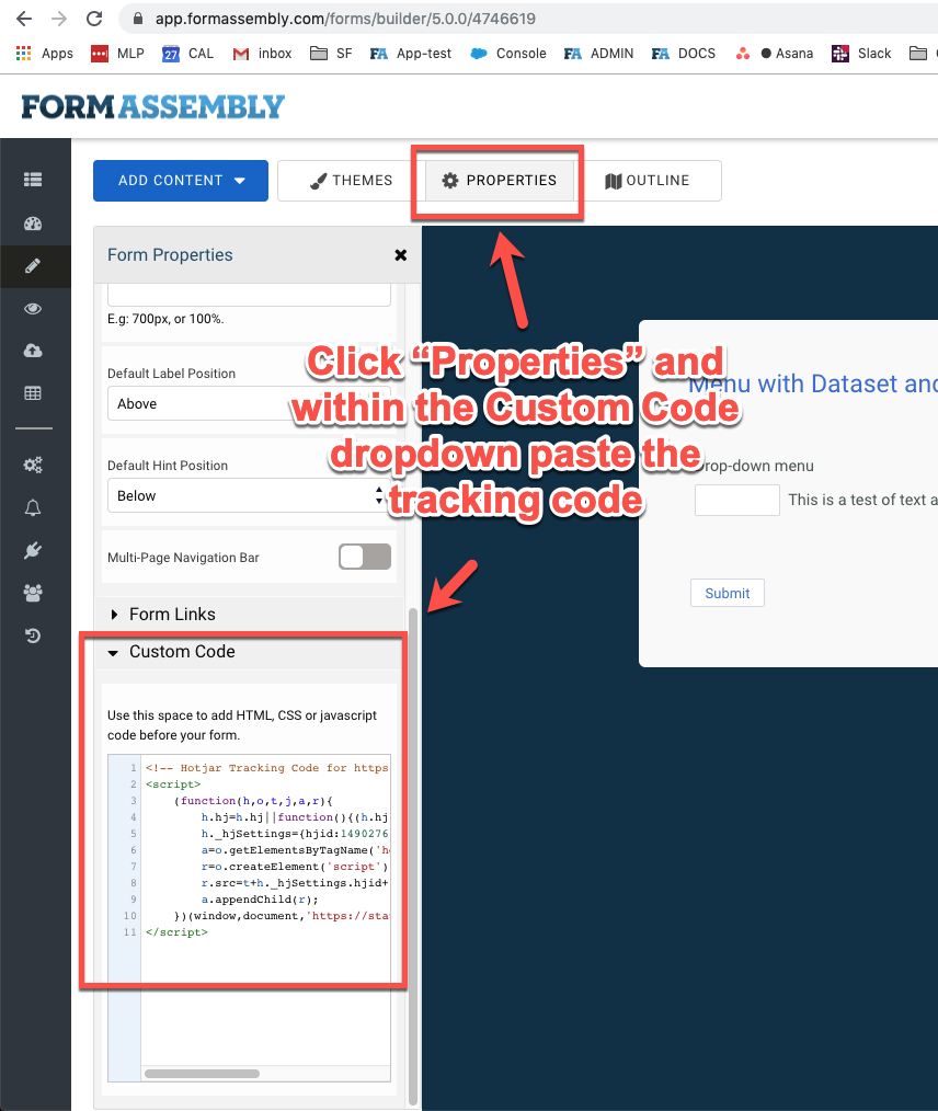 FormAssembly + Insiteful: 1-click install form abandonment tracking & lead recovery