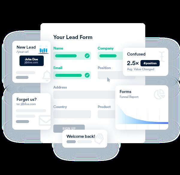 Form Entry Lead Capture Optimization CRO Web Form Analytics | Insiteful