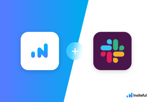 Insiteful + Slack: Get notifications for partial form entries & drop-offs