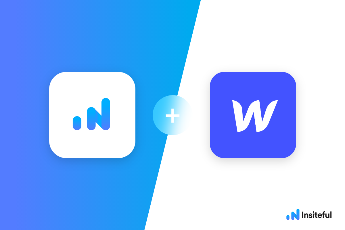 How-to track form abandonment in Webflow with Insiteful