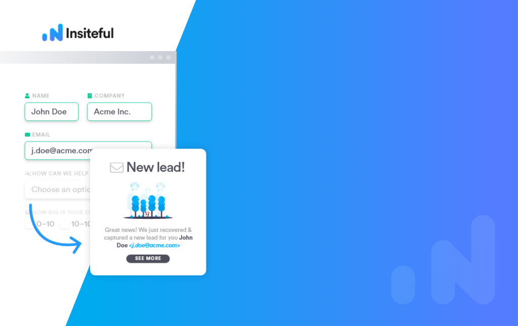 Track & capture 100% of partial form entries in WordPress - Form Tracking   Insiteful