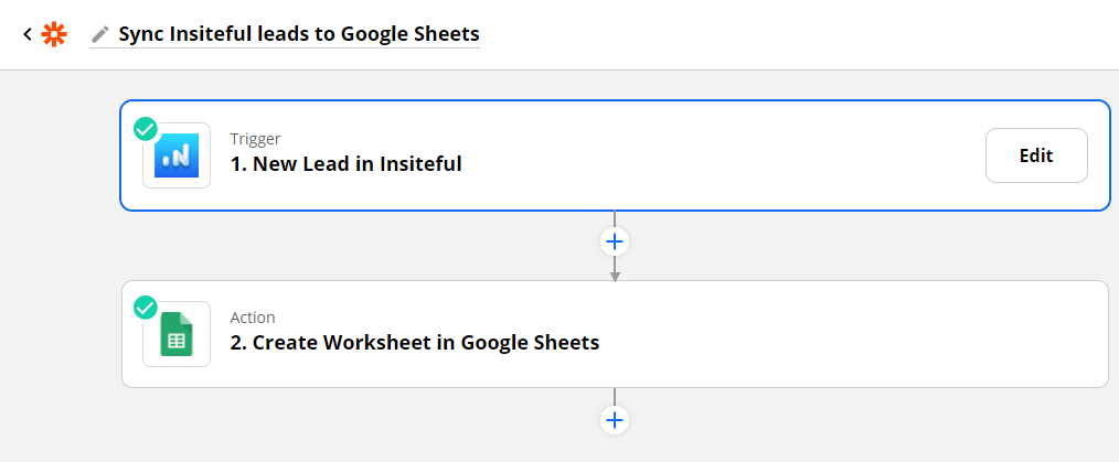 Sync recovered form leads to Google Sheets: recover missed opportunities